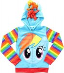 My Little Pony girls rainbow dash hoodie