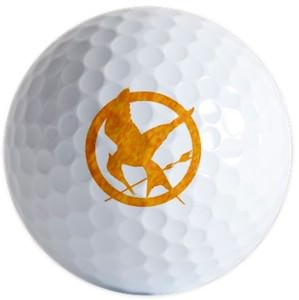 The Hunger Games Mocking Jay Golf Balls