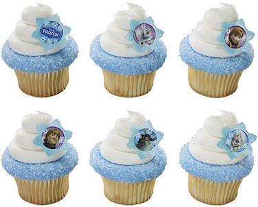 Frozen Cupcake Rings