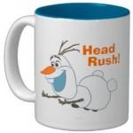 Frozen Sliding Olaf ceramic Mug