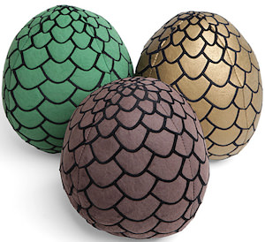 Game of Thrones Dragon egg plush