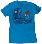 Ariel the Mermaid And The Doctor Who T-Shirt