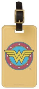 Wonder Woman Logo Luggage Tag