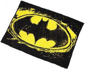 Batman Logo Fleece Blanket