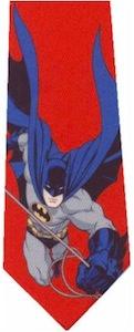 Red Batman Necktie