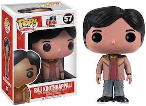 Big Bang Theory Raj Koothrappali Figurine