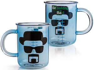 Breaking Bad Walter White Beaker Mug
