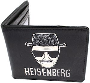 Breaking Bad Heisenberg Bi-Fold Wallet