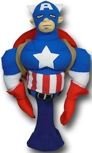Marvel Captain America Golf Club Head Cover