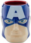 Captain America Sculptured Coffee Mug