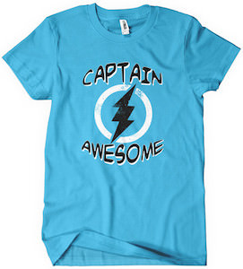 Chuck Captain Awesome T-Shirt