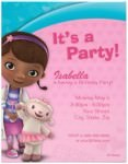 Doc McStuffins Birthday Invitations