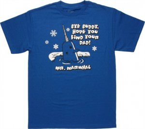 Elf Mr. Narwhal T-Shirt