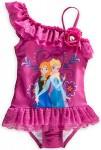 Disney Frozen Anna And Elsa Swimsuit