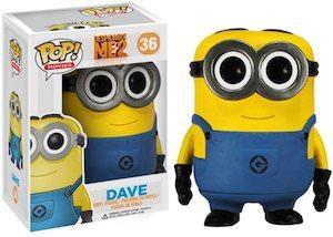 Despicable Me Minion Dave Pop Vinyl Figurine