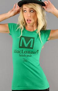 How I Met your Mother MacLaren's Irish Pub Women's T-Shirt