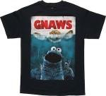 Sesame street Cookie Monster Gnaws T-Shirt