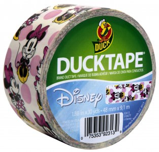 Minnie Mouse Printed Duck Tape