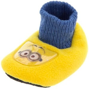 Despicable Me Minion Infant Toddler Sock Slippers