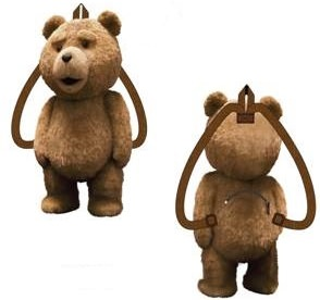 Ted Talking Bear Backpack