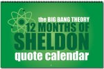 The Big Bang Theory 12 Months Of Sheldon Quote Calendar