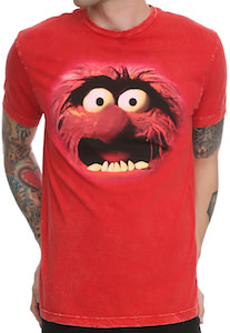 The Muppets Animal Face T-Shirt