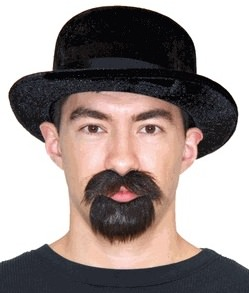 Breaking Bad Walter White Hat And Beard And Mustache