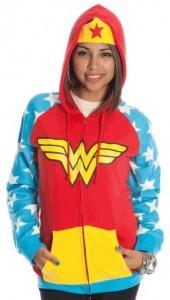 Wonder Woman girls hoodie