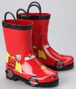 Cars Lightning McQueen Rain Boots