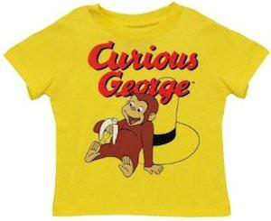 Curious George Toddler T-Shirt