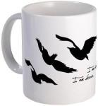 Divergent Raven Tattoo Mug