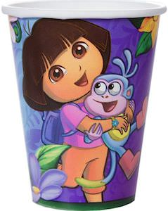 Dora The Explorer Party Cups