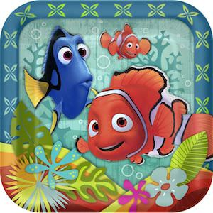 Finding Nemo Party Plates