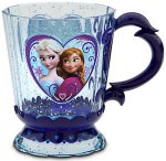 Frozen cup with Anna Elsa and Olaf the Snowman