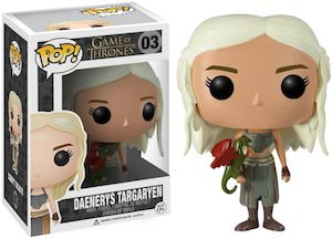 Game of Thrones Daenerys Targaryen Figurine pop vinyl