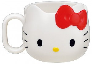Hello Kitty Face Mug