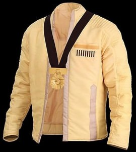 Luke Skywalker Ceremonial Jacket and Medal of Yavin