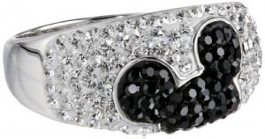 Mickey Mouse Crystal Ring