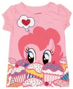Pinkie Pie Cupcakes Toddler T-Shirt