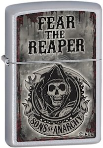 SAMCRO Fear The Reaper Zippo Lighter