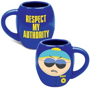 South park Cartman Oval Mug