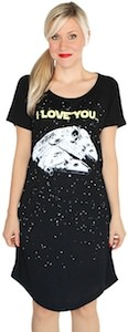 Star Wars Glow In The Dark Sleep Shirt