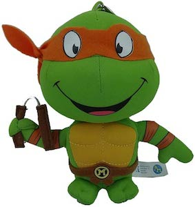 Teenage Mutant Ninja Turtles Michelangelo Plush Keychain