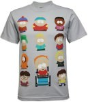 South Park t-shirt with cast members