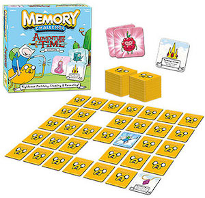 Adventure Time memory game