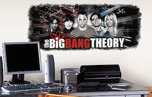 The Big Bang Theory Wall Decal