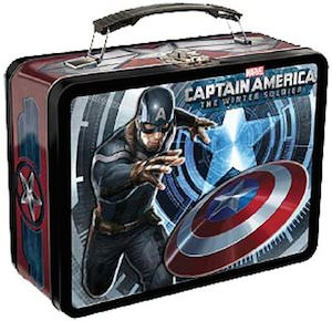 Captain America The Winter Soldier Lunch Box