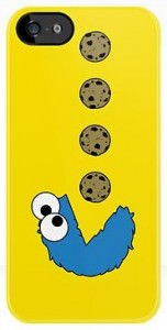 Cookie Monster iPhone Samsung Galaxy Case