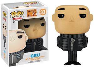 Despicable Me Gru pop vinyl Figurine