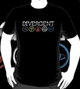 Divergent Symbols T-Shirt